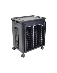 HP 20 Mgd Charging Cart V2 Svart Bärbar dator Multimediavagn Hp T9E83AA#ABB - 1