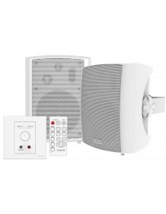 Vision TC3-AMP+SP-1800 högtalare Vit Kabel 50 W Vision TC3-AMP+SP-1800 - 1