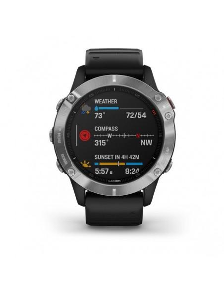 """Garmin fēnix 6 3.3 cm (1.3"""") Musta, Metallinen GPS (satelliitti) Garmin 010-02158-00 - 2"""