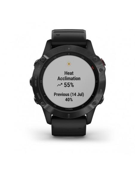 "Garmin fēnix 6 Pro 3.3 cm (1.3"") Black GPS (satellite) Garmin 010-02158-02 - 8"