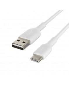 Belkin CAB001BT3MWH USB-kablar 3 m USB A C Vit Belkin CAB001BT3MWH - 1