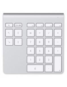 Belkin YourType numeric keypad PC/server Bluetooth Aluminium, White Belkin F8T067CW - 1
