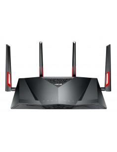 ASUS DSL-AC88U wireless router Gigabit Ethernet Dual-band (2.4 GHz / 5 GHz) Black Asus 90IG02W1-BU9G10 - 1