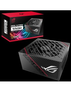 ASUS ROG-STRIX-550G virtalähdeyksikkö 550 W 20+4 pin ATX Musta Asus 90YE00A2-B0NA00 - 1
