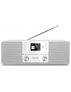TechniSat 370 CD BT Henkilökohtainen Analoginen & digitaalinen Valkoinen Technisat 0001/3948 - 1