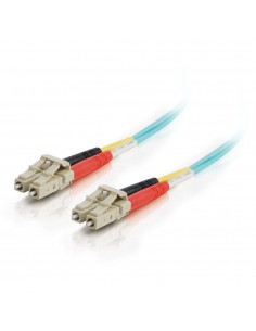 C2G 85555 fibre optic cable 15 m LC OFNR Turquoise C2g 85555 - 1