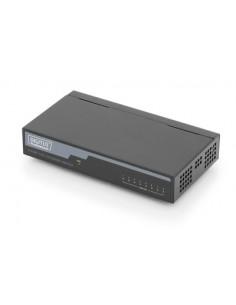 Digitus DN-60012 verkkokytkin Hallitsematon Fast Ethernet (10/100) Musta Assmann DN-60012 - 1