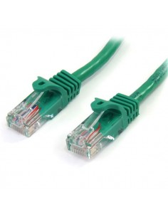 StarTech.com 45PAT1MGN verkkokaapeli 1 m Cat5e U/UTP (UTP) Vihreä Startech 45PAT1MGN - 1