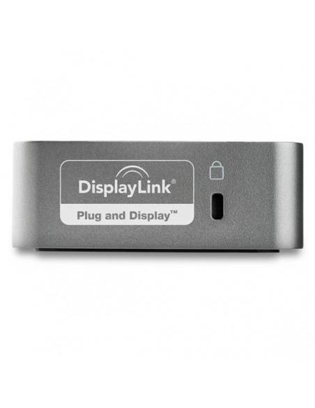 StarTech.com DK30CHHPDEU kannettavien tietokoneiden telakka ja porttitoistin Langallinen USB 3.2 Gen 1 (3.1 1) Type-C Musta Star