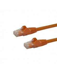 StarTech.com 10m CAT6 Ethernet Cable - Orange CAT 6 Gigabit Wire -650MHz 100W PoE RJ45 UTP Network/Patch Cord Snagless w/Strain