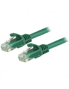 StarTech.com 15m CAT6 Ethernet Cable - Green CAT 6 Gigabit Wire -650MHz 100W PoE RJ45 UTP Network/Patch Cord Snagless w/Strain S