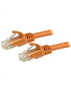 StarTech.com 15m CAT6 Ethernet Cable - Orange CAT 6 Gigabit Wire -650MHz 100W PoE RJ45 UTP Network/Patch Cord Snagless w/Strain