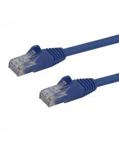 StarTech.com 2m CAT6 Ethernet Cable - Blue CAT 6 Gigabit Wire -650MHz 100W PoE RJ45 UTP Network/Patch Cord Snagless w/Strain Sta