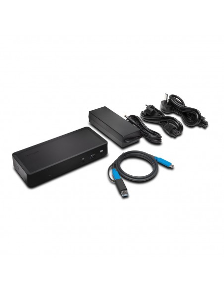 Kensington SD4700P Langallinen USB 3.2 Gen 1 (3.1 1) Type-C Musta Kensington K38240EU - 9
