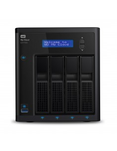 Western Digital My Cloud EX4100 NAS Työpöytä Ethernet LAN Musta Armada 388 Western Digital WDBWZE0160KBK-EESN - 1