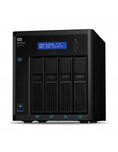 Western Digital My Cloud Pro EX4100 NAS Skrivbord Nätverksansluten (Ethernet) Svart Armada 388 Western Digital WDBWZE0560KBK-EES