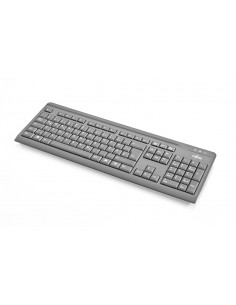 Fujitsu KB410 keyboard USB QWERTZ Czech, Slovakian Black Fujitsu Technology Solutions S26381-K511-L404 - 1