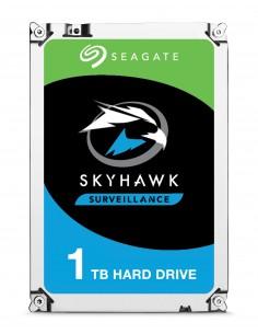 "Seagate SkyHawk ST1000VX005 sisäinen kiintolevy 3.5"" 1000 GB Serial ATA III Seagate ST1000VX005 - 1"