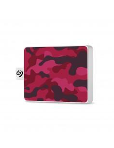 Seagate STJE500405 externa hårddiskar 500 GB Kamouflage, Röd Seagate STJE500405 - 1
