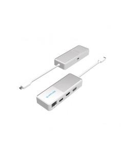 Sapphire 44005-05-20G dockningsstationer för bärbara datorer Kabel USB 3.2 Gen 1 (3.1 1) Type-C Vit Sapphire Technology 44005-05
