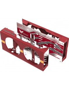 Sapphire 4N002-02-20G computer cooling component Graphics card Backplate Grey, Red Sapphire Technology 4N002-02-20G - 1