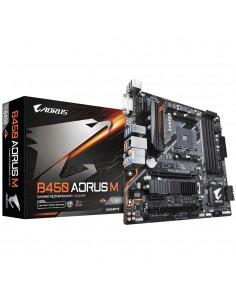 Gigabyte B450 AORUS M (rev. 1.0) AMD Socket AM4 micro ATX Gigabyte B450 AORUS M - 1