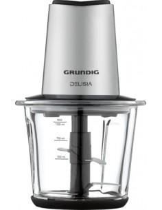 Grundig CH 8680 elektroninen ruoanpilkkoja 1 L 800 W Musta, Ruostumaton teräs Grundig CH 8680 - 1