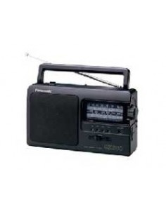 Panasonic RF-3500E9-K radio Portable Analog Black Panasonic RF3500E9K - 1
