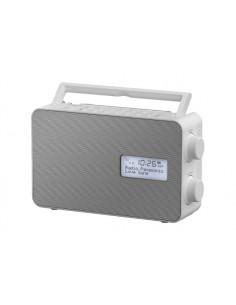 Panasonic RF-D30BTEG, DAB+ Radio Portable Digital Grey, White Panasonic RFD30BTEGW - 1