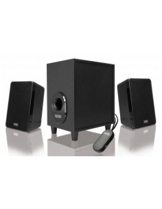 Sweex SP024 speaker set 11 W Black 2.1 channels Sweex SP024 - 1