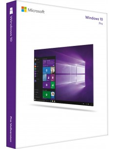 Microsoft Windows 10 Pro, 32-bit, GGK, DSP, ENG Microsoft 4YR-00286 - 1