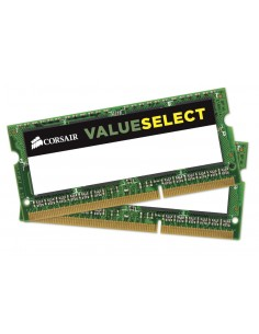 Corsair 2x 4GB, DDR3L, 1600MHz muistimoduuli 8 GB 2 x 4 DDR3 Corsair CMSO8GX3M2C1600C11 - 1