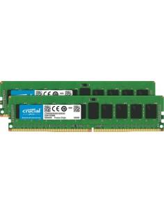 Crucial 16GB (2 x 8GB) DDR4-2666 RDIMM muistimoduuli 2 8 GB 2666 MHz ECC Crucial Technology CT2K8G4RFD8266 - 1