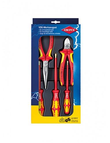 Knipex 00 20 13 tekninen työkalusetti Knipex 00 20 13 - 1
