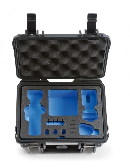 B&W Type 500 DJI Osmo Pocket kameradroonin kotelo Salkku Musta Polypropeeni (PP) B&w International 500/B/OSMOP - 2