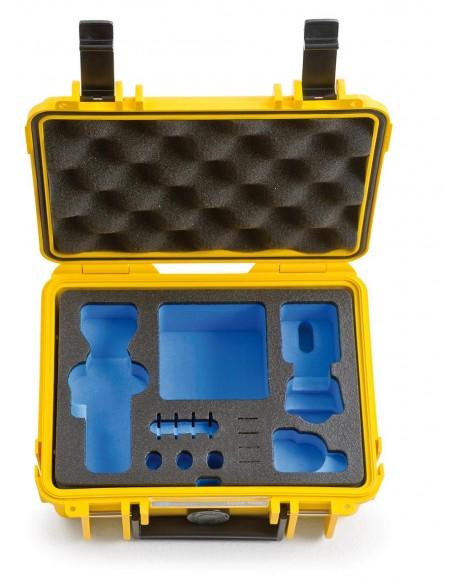 B&W Type 500 DJI Osmo Pocket kameradroonin kotelo Salkku Keltainen Polypropeeni (PP) B&w International 500/Y/OSMOP - 3