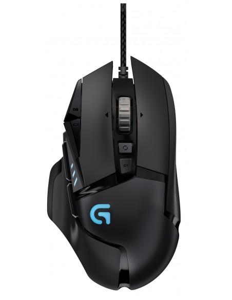 Logitech G502 hiiri USB A-tyyppi Optinen 12000 DPI Oikeakätinen Logitech 910-004617 - 1
