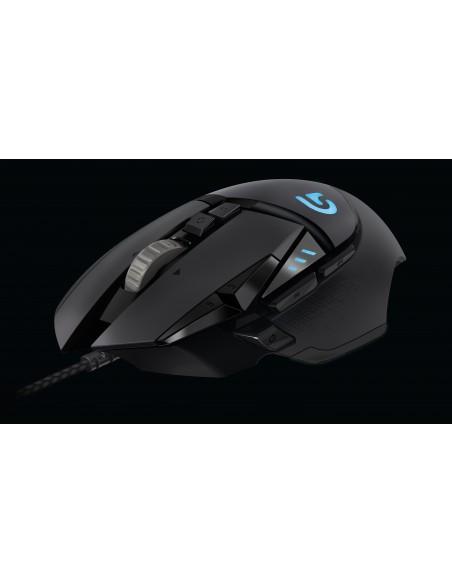 Logitech G502 hiiri USB Optinen 12000 DPI Oikeakätinen Logitech 910-004617 - 3
