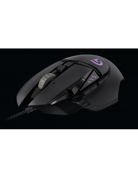 Logitech G502 hiiri USB A-tyyppi Optinen 12000 DPI Oikeakätinen Logitech 910-004617 - 6