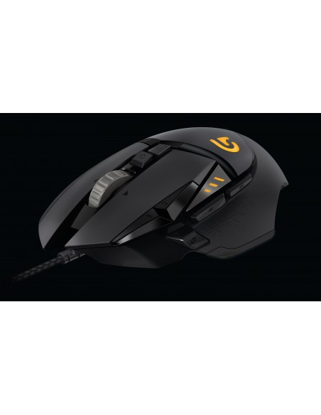 Logitech G502 hiiri USB A-tyyppi Optinen 12000 DPI Oikeakätinen Logitech 910-004617 - 10