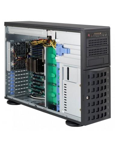 Supermicro SC745TQ-R800B Full Tower Musta Supermicro CSE-745TQ-R800B - 1