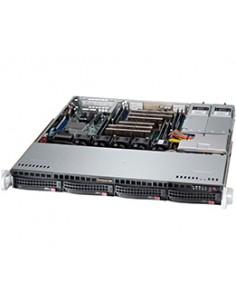 Supermicro SC813MFTQ-R400CB Teline Musta 400 W Supermicro CSE-813MFTQ-R400CB - 1