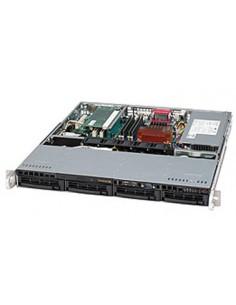 Supermicro CSE-813MTQ-350CB computer case Black 350 W Supermicro CSE-813MTQ-350CB - 1