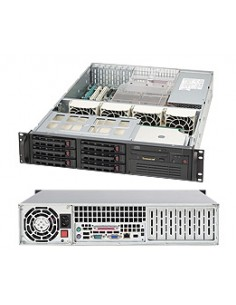 Supermicro SC823TQ-653LPB Rack Black 650 W Supermicro CSE-823TQ-653LPB - 1