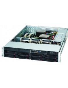 Supermicro SC825TQ-R720LPB Teline Musta, Hopea 720 W Supermicro CSE-825TQ-R720LPB - 1