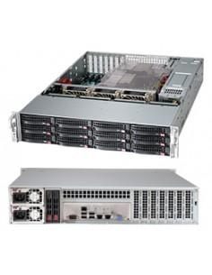 Supermicro 826BAC4-R920LPB Rack Black 920 W Supermicro CSE-826BAC4-R920LPB - 1
