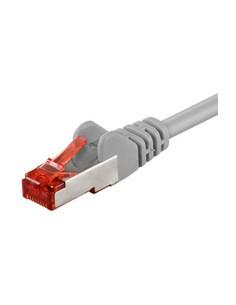 Goobay 0.25m Cat.6 S/FTP verkkokaapeli 0,25 m Harmaa Goobay 93371 - 1