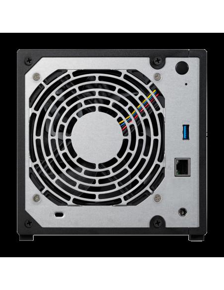 Asustor AS1004T V2 Armada 385 Ethernet LAN Musta NAS Asustor Inc. AS1004T V2 - 2