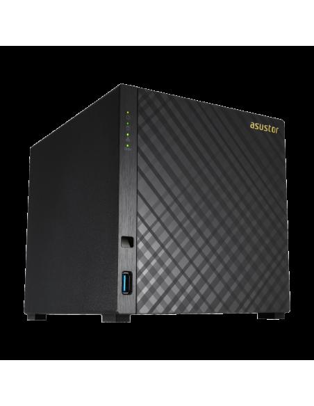 Asustor AS1004T V2 Armada 385 Ethernet LAN Musta NAS Asustor Inc. AS1004T V2 - 4