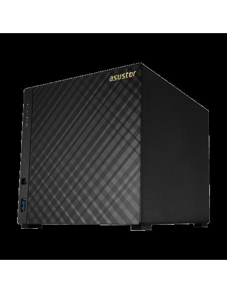 Asustor AS1004T V2 Armada 385 Ethernet LAN Musta NAS Asustor Inc. AS1004T V2 - 6